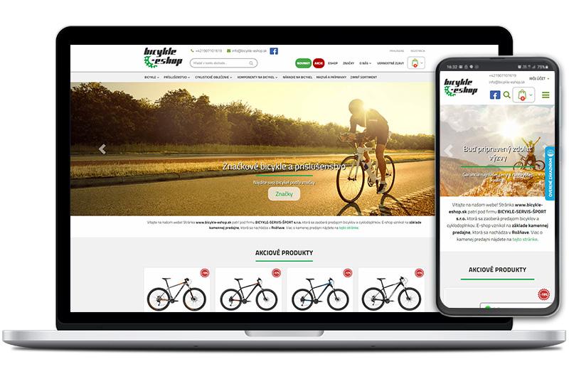 bicykle-eshop.sk - titulná fotka