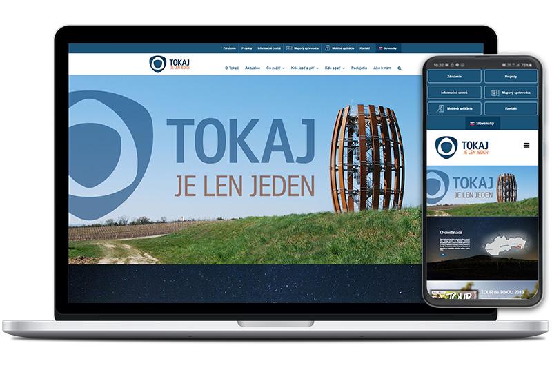 Tokaj región webová stránka
