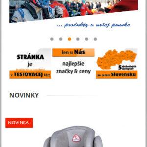 auto-max.sk - mobilná verzia