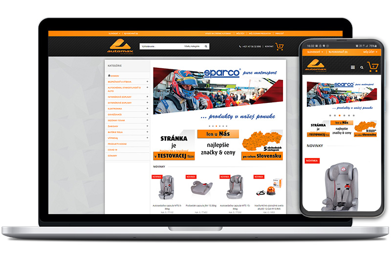 auto-max.sk - titulná fotka