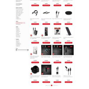 mobilnet.sk - stránka kategórie