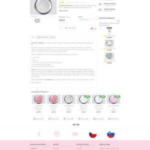 ruscona.sk - stránka produktu
