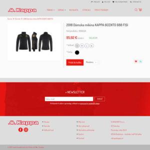 kappa.sk - stránka produktu