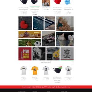 shirtfan.sk - domovská stránka