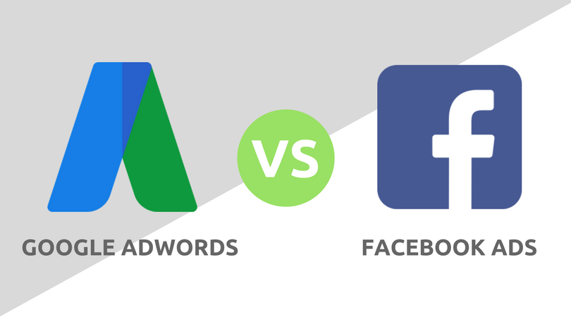 google adwords vs facebook reklama
