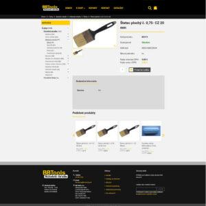 bbtools.sk - stránka produktu