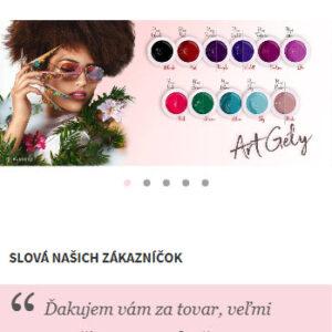 ruscona.sk - mobilná verzia