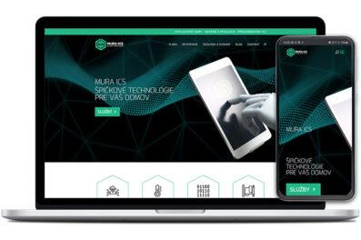Mura ICS webová stránka