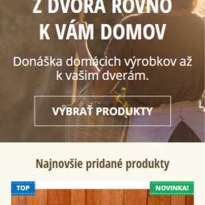gemerskadebnicka.sk - mobilná verzia