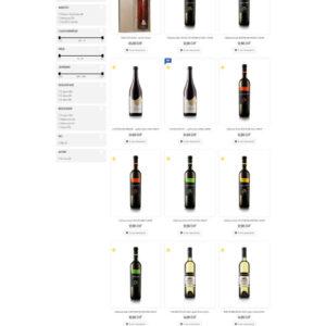 topvino.ch - stránka kategórie