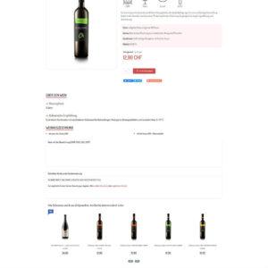 topvino.ch - stránka produktu