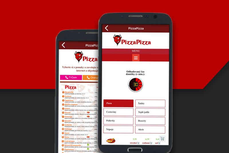 PizzaPizza aplikácia