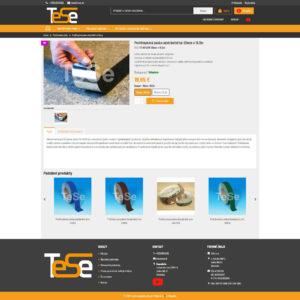 tese.sk - stránka produktu