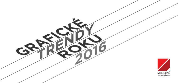 Grafické trendy roku 2016