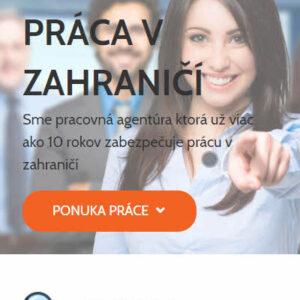 job4uslovakia.sk - mobilná verzia