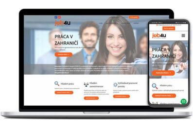 Job4uslovakia webová stránka