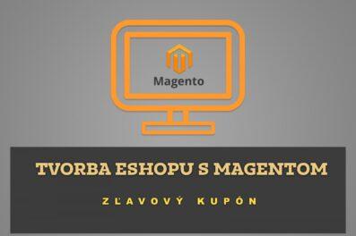 Tvorba eshopu s Magentom – Zľavový kupón