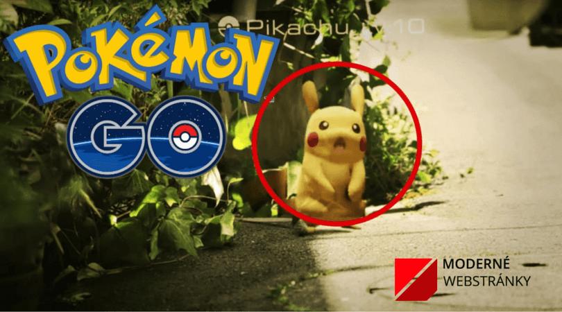 Zaujímavosti o Pokémon Go