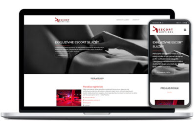 Escort services webová stránka