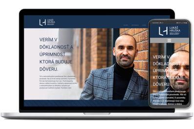 Lukáš Hruška webová stránka