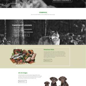 timberwolfpetfood.eu - domovská stránka