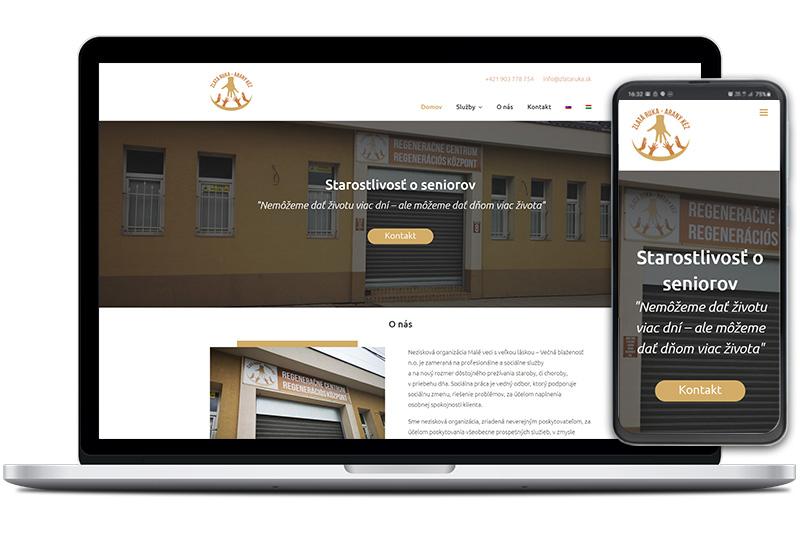 Zlatá ruka webová stránka