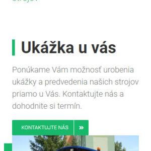 zoramimex.sk - mobilná verzia