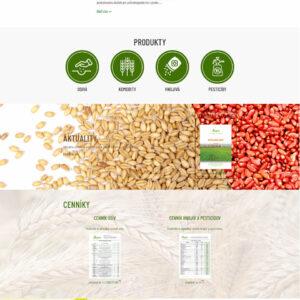 agria-seeds.sk - domovská stránka