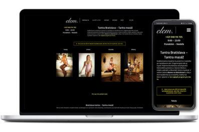 Elem webová stránka