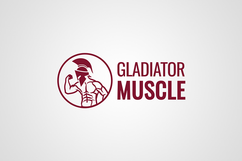 Gladiator Muscle logo