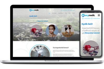 Oxymedic webová stránka