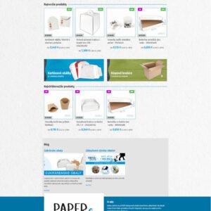 paperpack.sk - domovská stránka