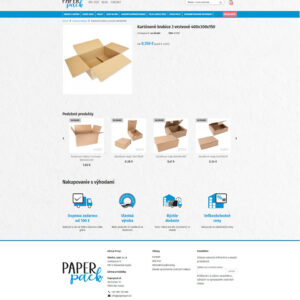 paperpack.sk - stránka produktu