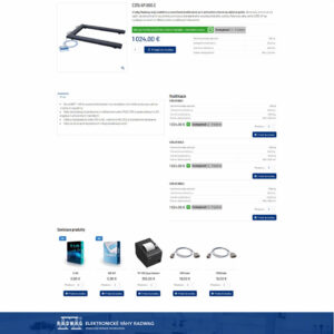 radwag-slovensko.sk - stránka produktu