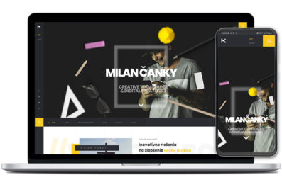 Milan Čanky webová stránka