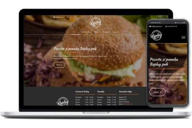 Replay Pub Rožňava webová stránka