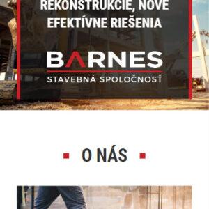 barnes.sk - mobilná verzia