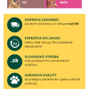 tatrapet.sk - mobilná verzia