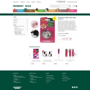 tatrapet.sk - stránka produktu