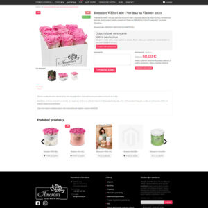 amorosa.sk - stránka produktu