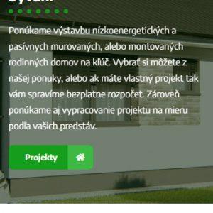 stavba-domu.sk - mobilná verzia