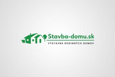 Stavba domu logo