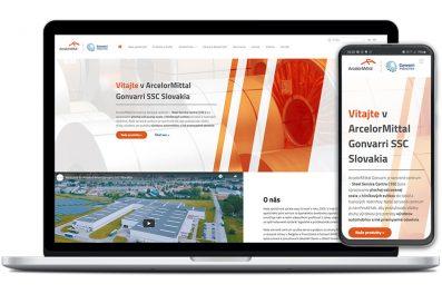 ArcelorMittal webová stránka
