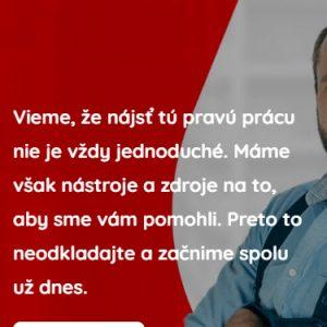 brosmannjob.sk - mobilná verzia
