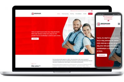 Brosmann job webová stránka