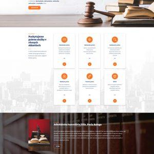 advokatbalog.sk - domovská stránka