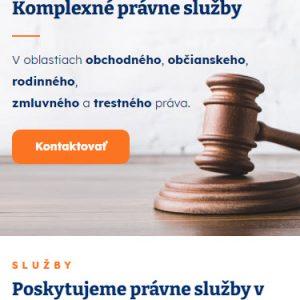advokatbalog.sk - mobilná verzia