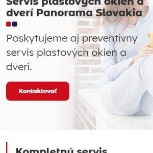 servisplastovychokien.sk - mobilná verzia