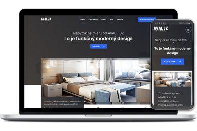 Aval-jz webová stránka
