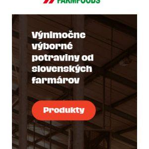 farmfoods.sk/vynimocne-vyborne-potraviny - mobilná verzia